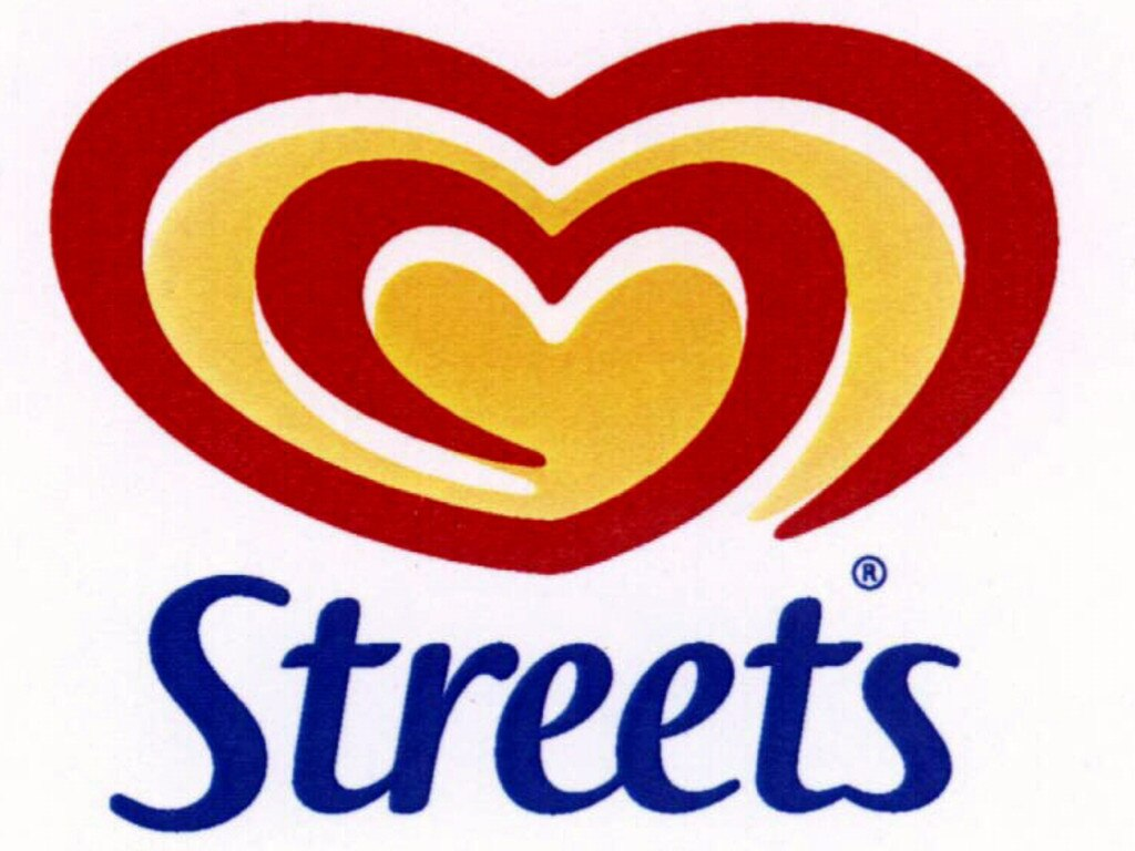 JUNE, 1999: Streets Ice Cream logo, 06/99. Logos