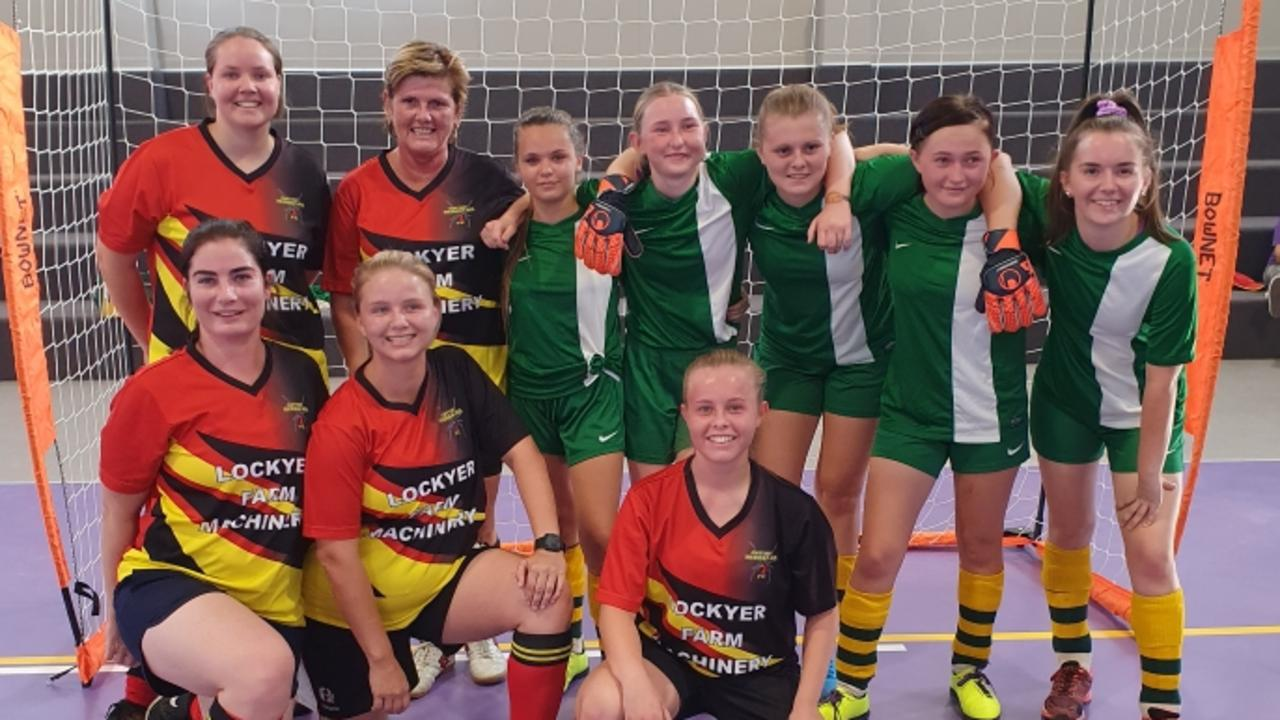 Teams from the Lockyer District State High School took on the Redbacks in a series of futsal games.