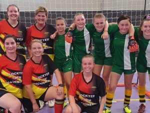 High school students hold their own against in-form Redbacks