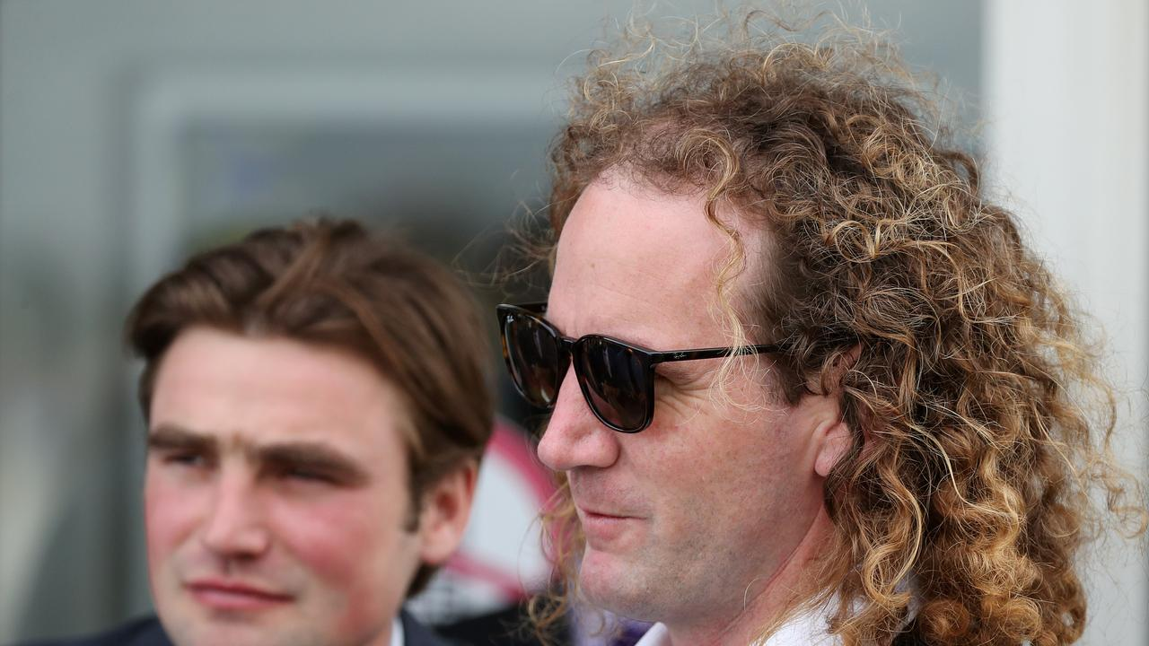 Co-trainers David Eustace and Ciaron Maher. Picture: Getty Images