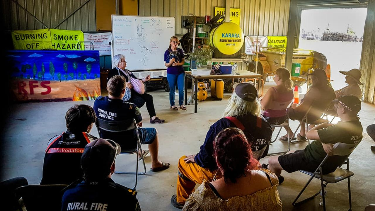 RESCUE READY: Karara Rural fire service brigade learns all there is to know about rescuing animals on the job.