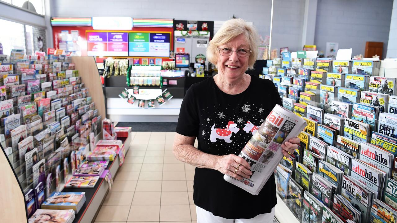 Sharon Rechenberg is retiring after twenty eight and a half years at Golden Arrow News & Casket in Woongarra St.