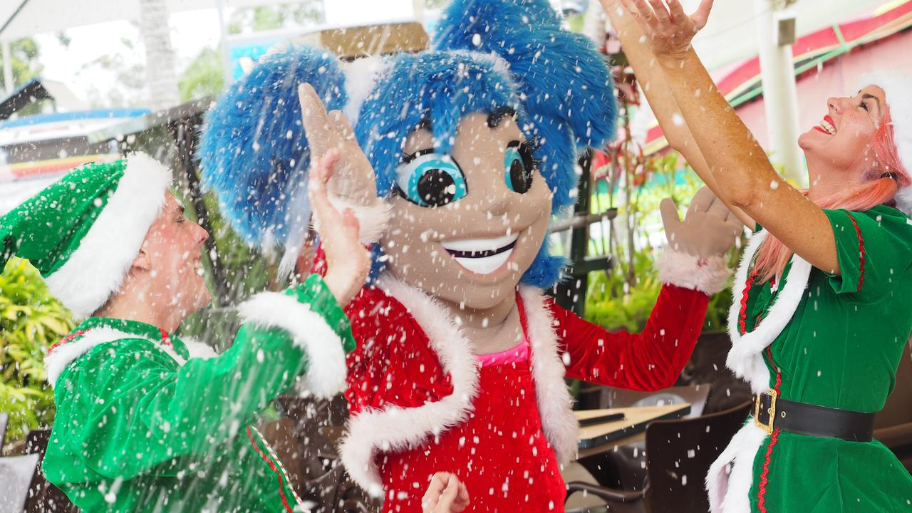 Aussie World will be transformed into a winter wonderland for the annual Christmas Spectacular this weekend. Photo: Contributed
