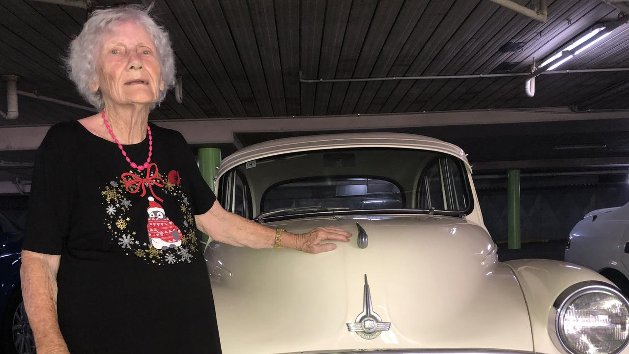 Ruth Robinson's 1958 Morris Minor is prettier than when she bought it, thanks to Wazrodz and other Rockhampton businesses