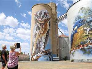 GrainCorp pulls pin on Western Downs silo art trail