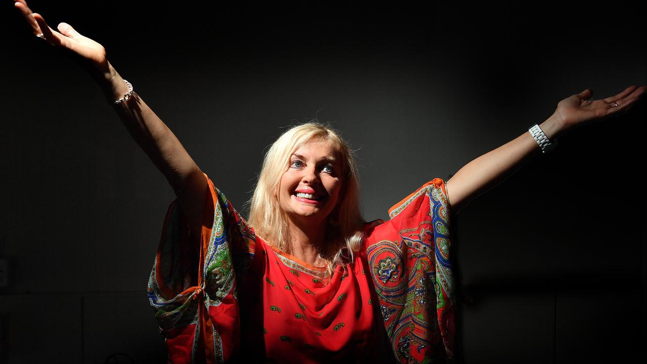 MESSAGES OF HOPE: Stories of Hope founder and author Kerrie Atherton. Photo: John McCutcheon / Sunshine Coast Daily