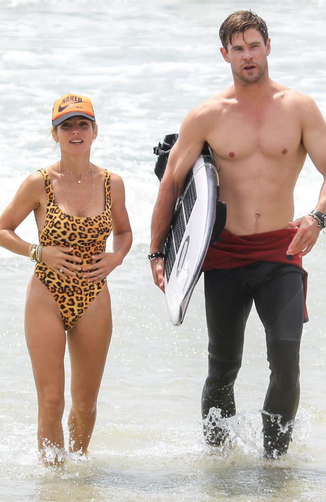 Wanna get fit with Hemsworth and Pataky? It's gonna cost you! Picture: Media Mode