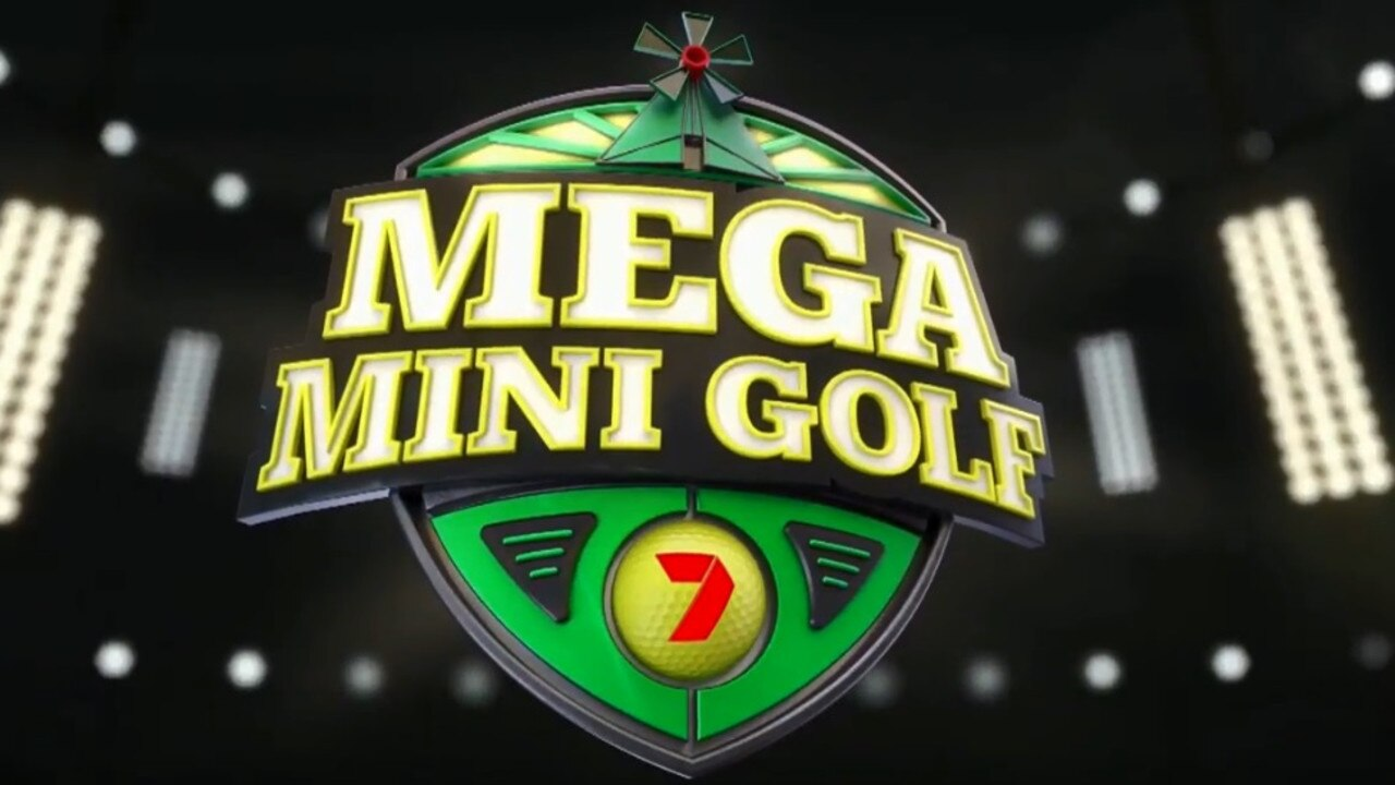 Mega Mini Golf is set to be some crazy family-friendly viewing.