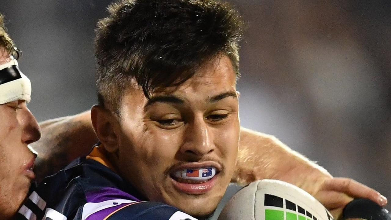 Tino Fa'Asuamaleaui. 2019 NRL Round 16 – St. George Illawarra Dragons v Melbourne Storm, WIN Stadium, 2019-07-04. Digital image by Robb Cox NRL Photos