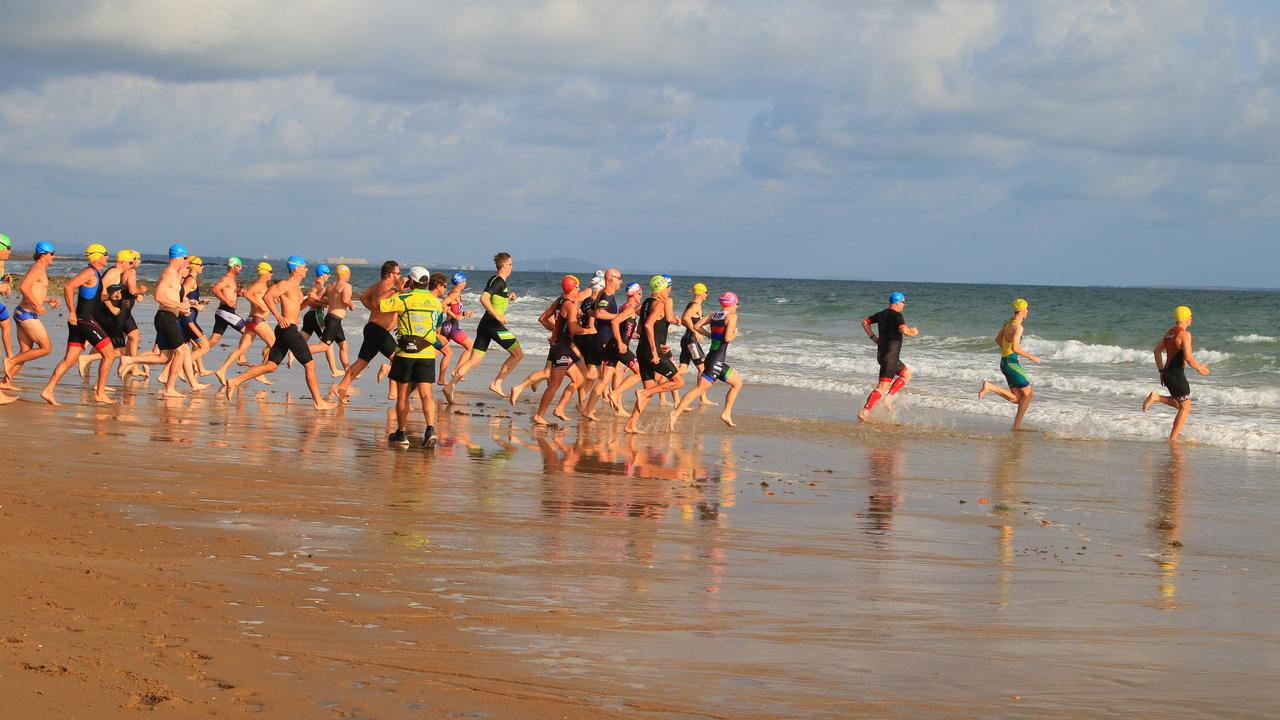 The Fitzroy Frogs hosted the triathlon at Tannum Sands 15 December 2019