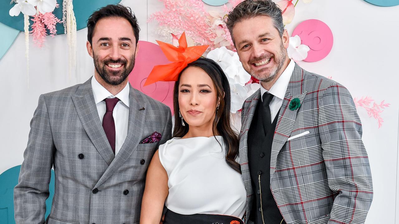 MasterChef Australia's 2020 judges Jock Zonfrillo, Melissa Leong and Andy Allen. Picture: Jake Nowakowski