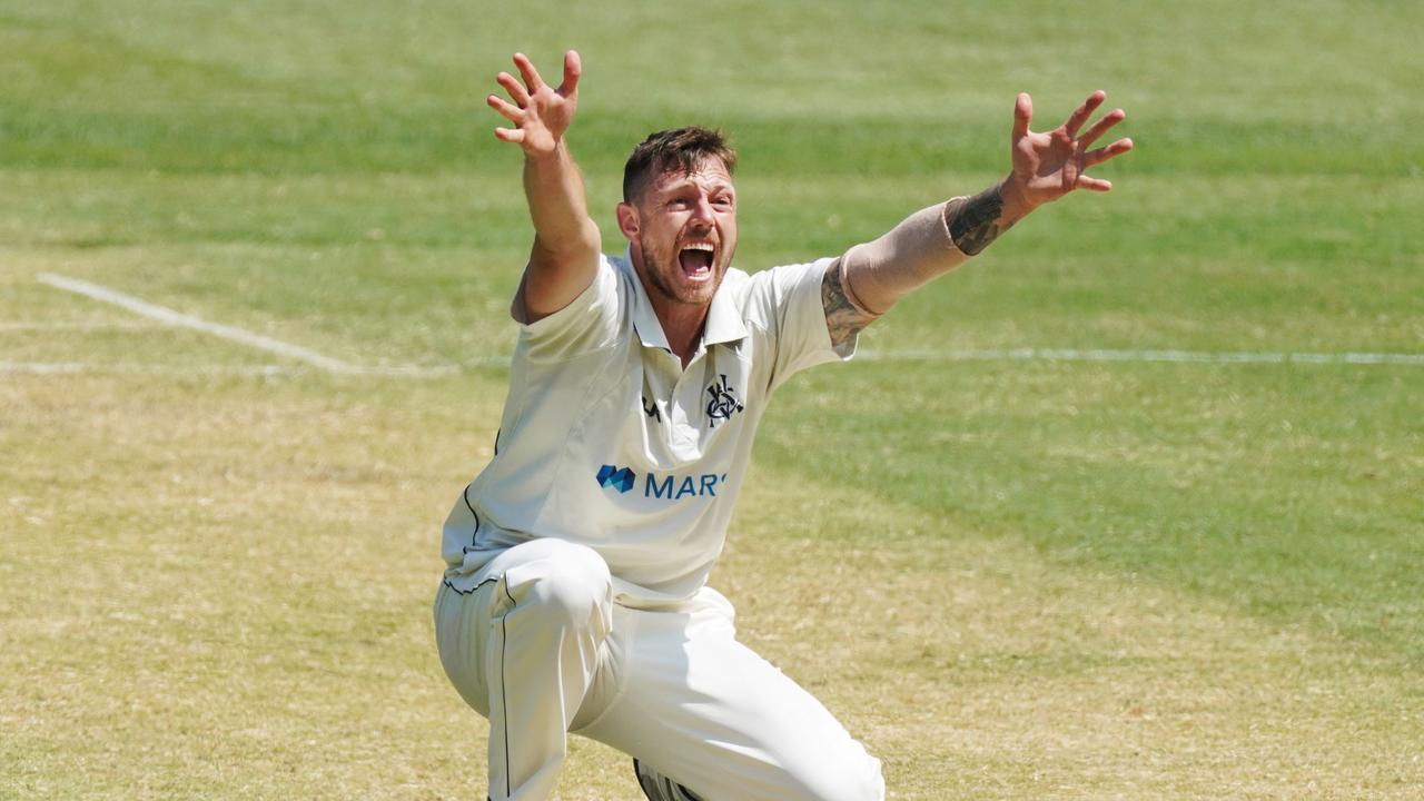 James Pattinson has been overlooked this summer, but could earn a recall following Josh Hazlewood's hamstring injury. Picture: AAP