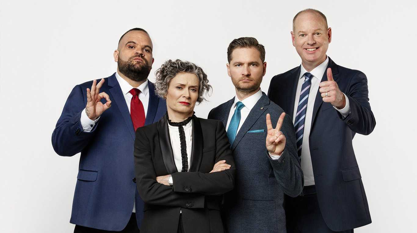 Adam Briggs, Judith Lucy, Charlie Pickering and Tom Gleeson return tonight in The Yearly with Charlie Pickering.