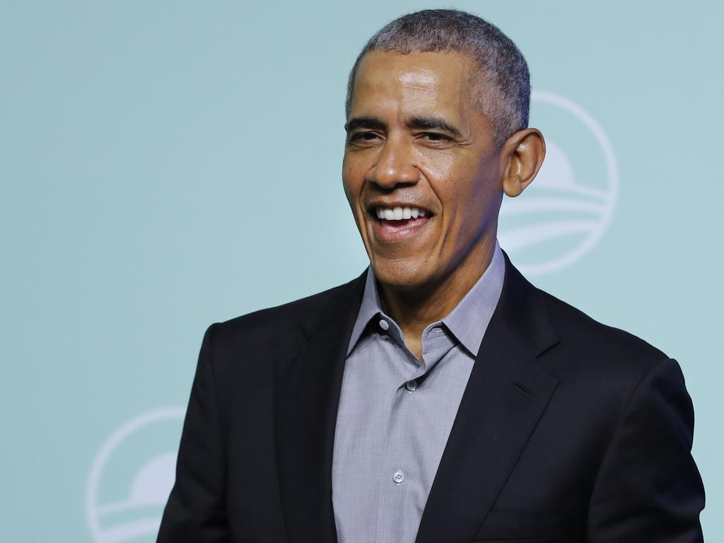 Mr Obama ... 'People who do really good stuff have flaws'. Picture: AP