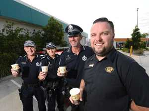 Coppers now dishing out coffee instead of fines