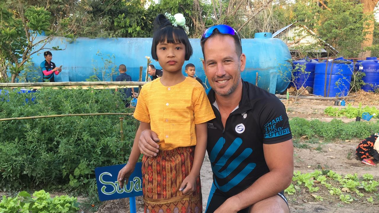 Stuart Nielsen hopes to raise $10,000 to give to Thai charity Hands Across the Water which supports children and families in need. Photo. supplied