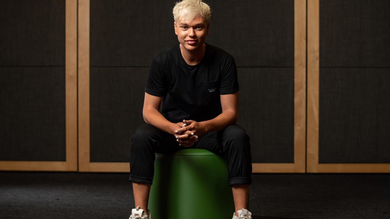 Jack Vidgen is vying for the Australian spot in Eurovision. Picture: Monique Harmer