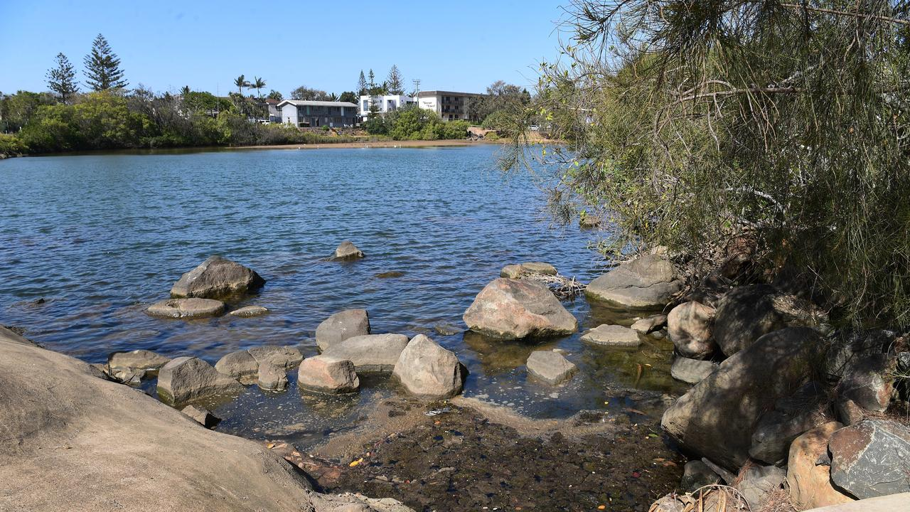 Concerns have been raised over the water quality of Moneys Creek and the lagoon in Bargara.