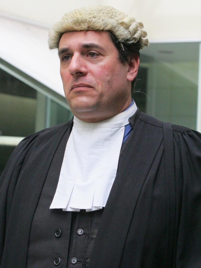 Judge Vasta in full regalia