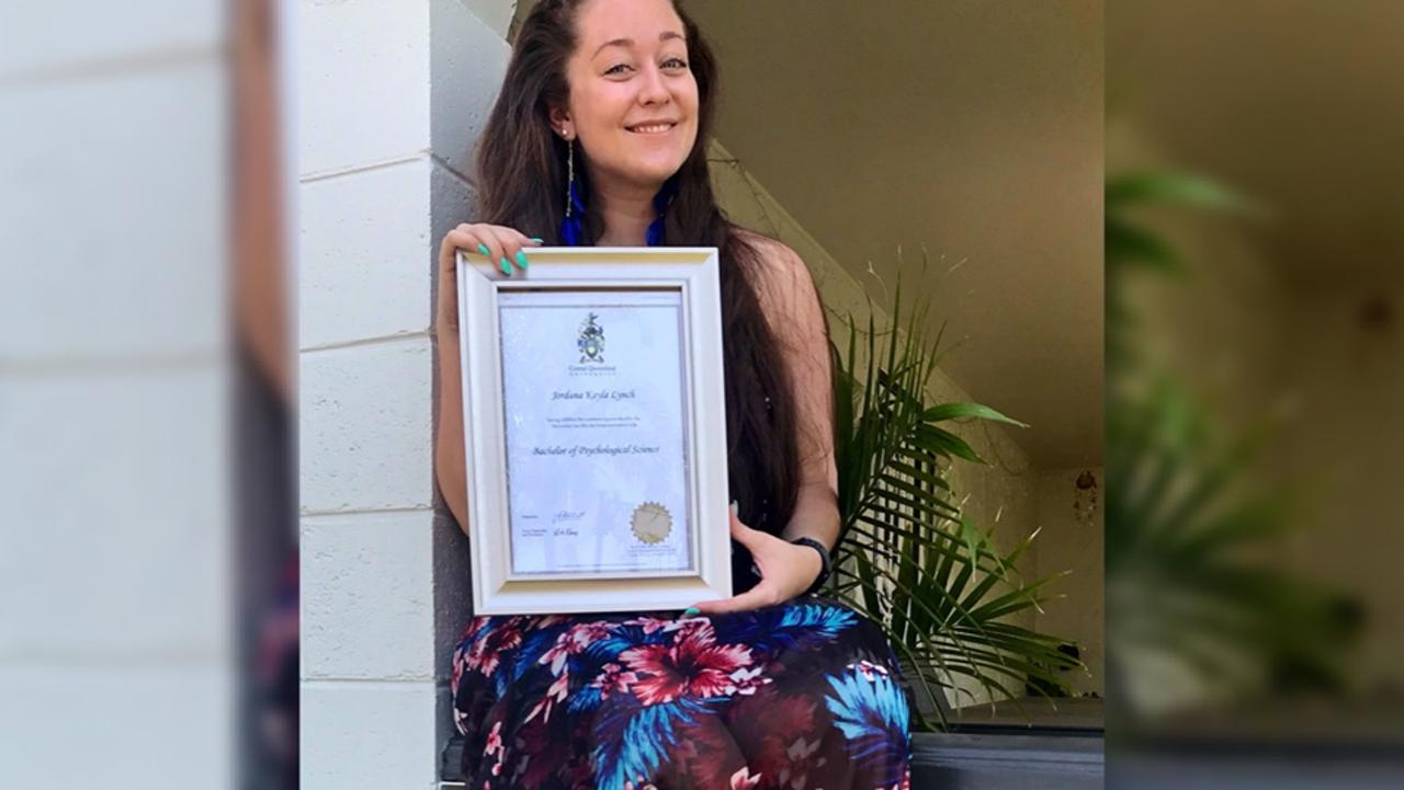 WORTH IT: Columnist Jordie Lynch has completed her psychology degree. Picture: Contributed