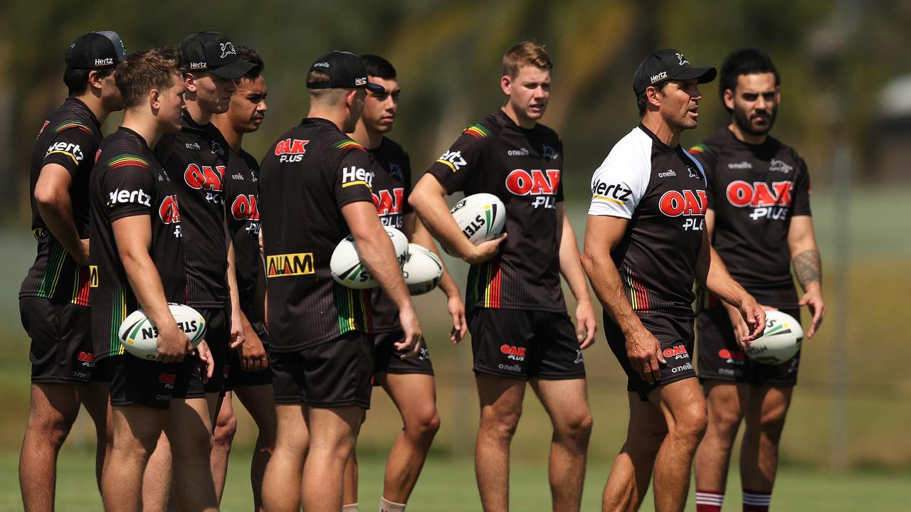 Penrith has been forced to end a number of contracts early. Picture by Brett Costello