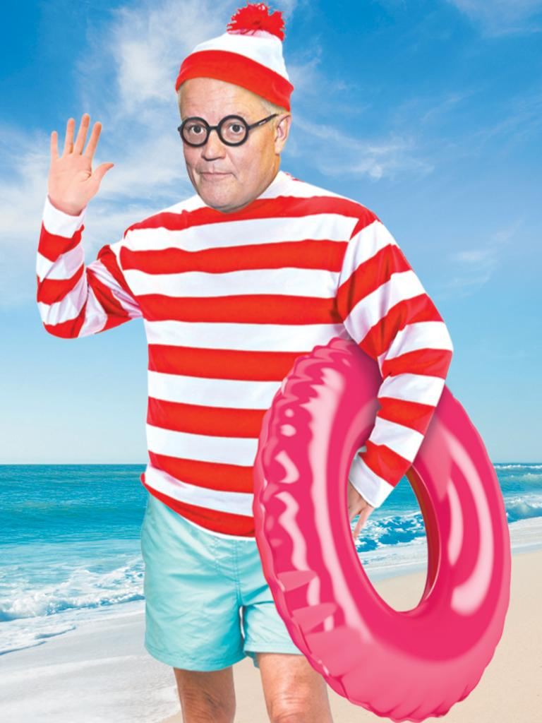 Where's ScoMo? Should Australians know where the PM Scott Morrison is vacationing with his family? Digitally altered image