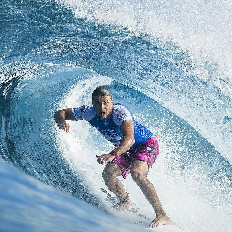 World Surf League surfer and Coolum local Julian Wilson. Photo: Damien Poullenot