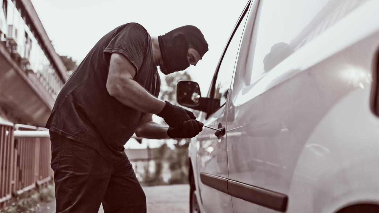 The car thief spent 83 days in jail and was subsequently paroled.