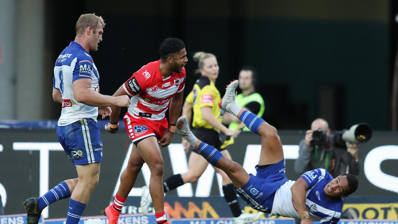 Pearson played 10 matches for the Dragons in 2019. Picture by Brett Costello.