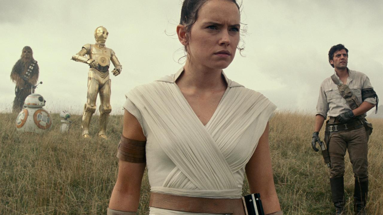 A scene from the movie Star Wars: The Rise of Skywalker. Picture: Disney