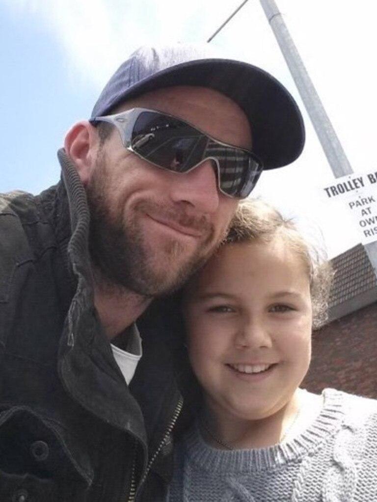 Leah Spengler and her dad Andrew Spengler