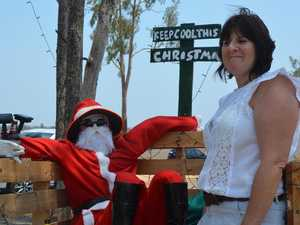 Santa's on the grog at this Mundubbera home