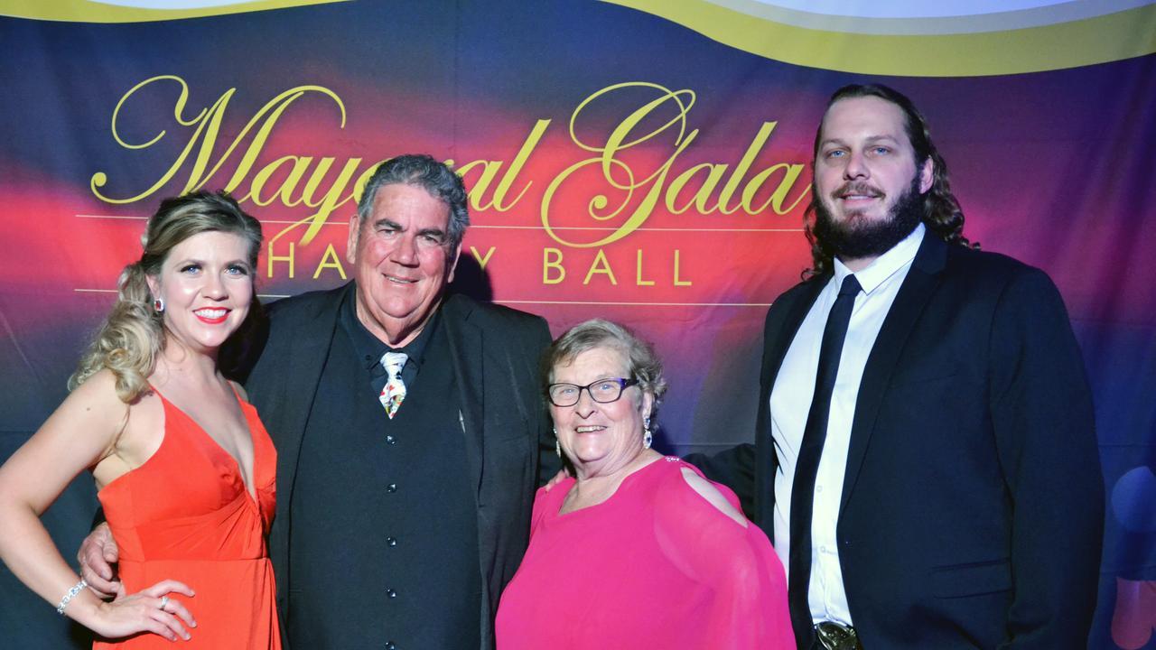 Rebecca Wilson, Mayor Graeme Lehmann, Judy Lehmann and Matt Wilson at the third annual Somerset Mayoral Gala Charity Ball on Saturday, September 7.