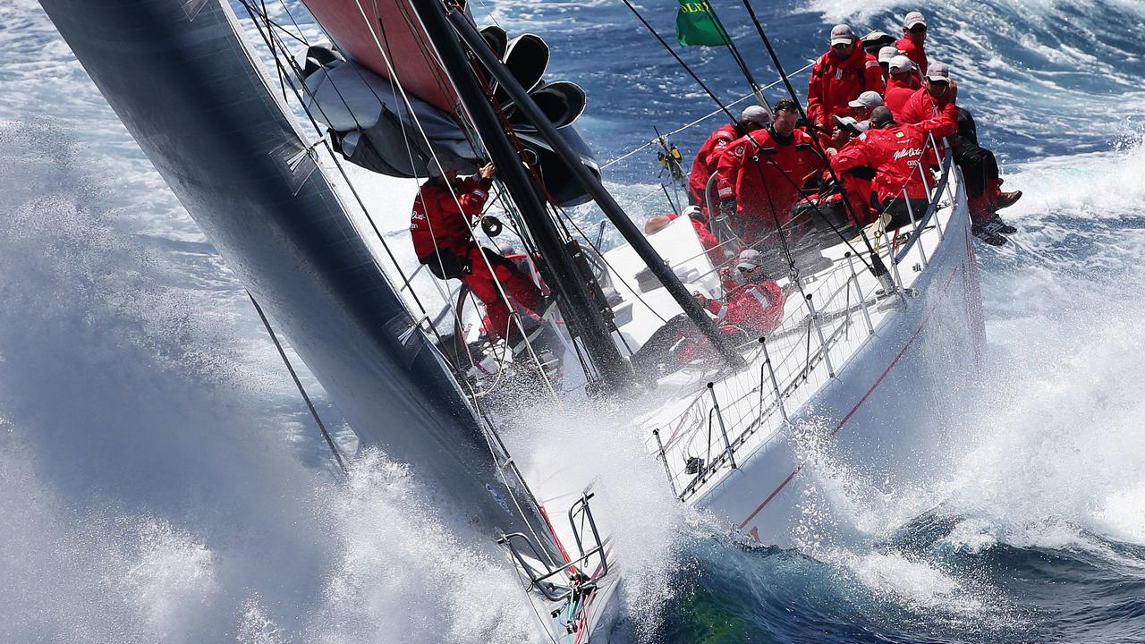 Wild Oats X1 is one of the favourites for the Sydney to Hobart race which starts on Boxing Day. Pic: Brett Costello.