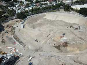 Hole in ground: Sydney stadium project blows out by $100m