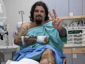 Bad news for CQ man flown home after motorbike crash