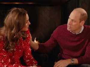 Kate, Wills' awkward TV moment