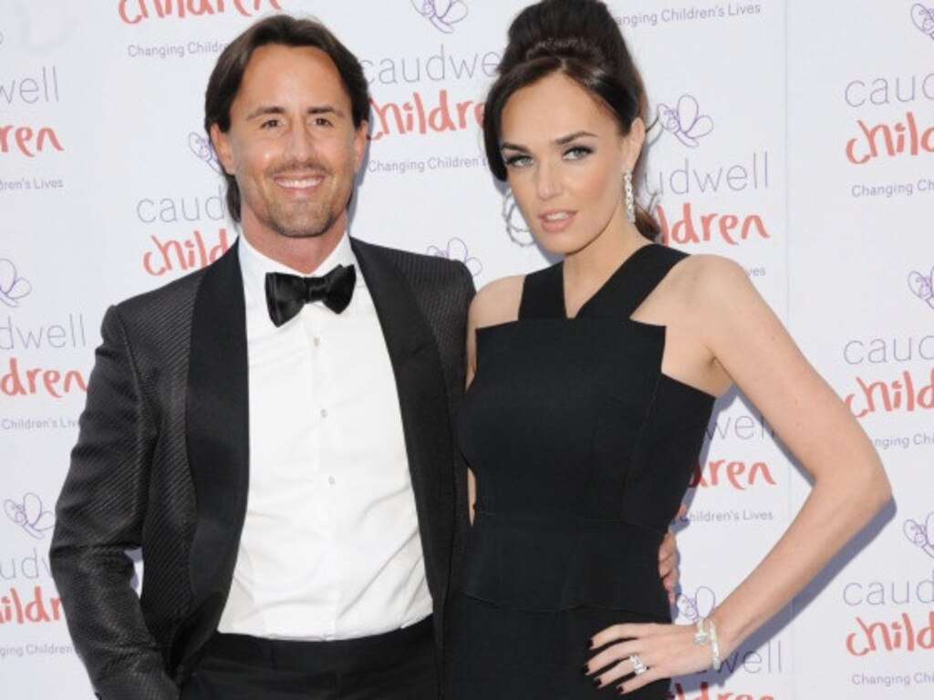 Tamara Ecclestone with husband Jay Rutland.