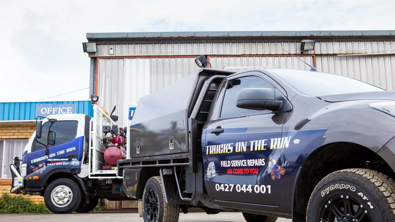 Trucks on the Run boasts a workshop, three full-time service trucks, three mechanics and three apprentices.