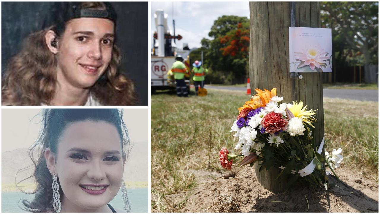 The teenagers tragically killed in a horrific fiery crash in Cairns have been identified as their shocked family and friends remember the popular pair.