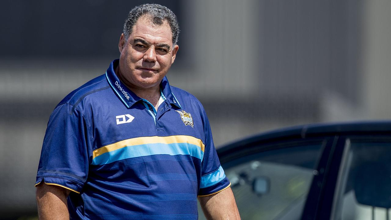Meninga wants to look after his house first. Photo: Jerad Williams