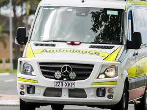 Man in his 60s falls 2.5 metres from roof
