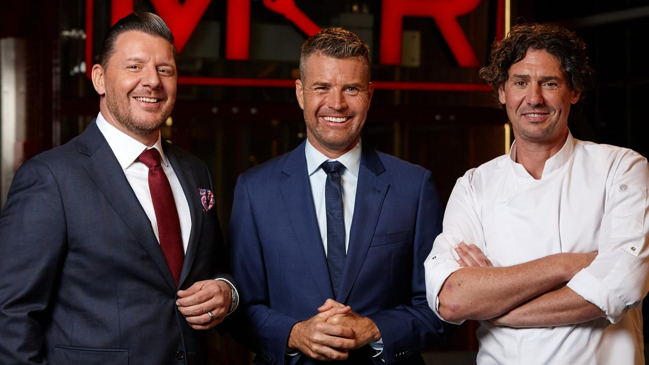 My Kitchen Rules: The Rivals is helmed by Manu Feildel, Pete Evans and Colin Fassnidge