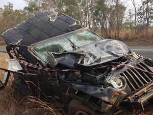 'The car started flipping': Yeppoon man's lucky escape