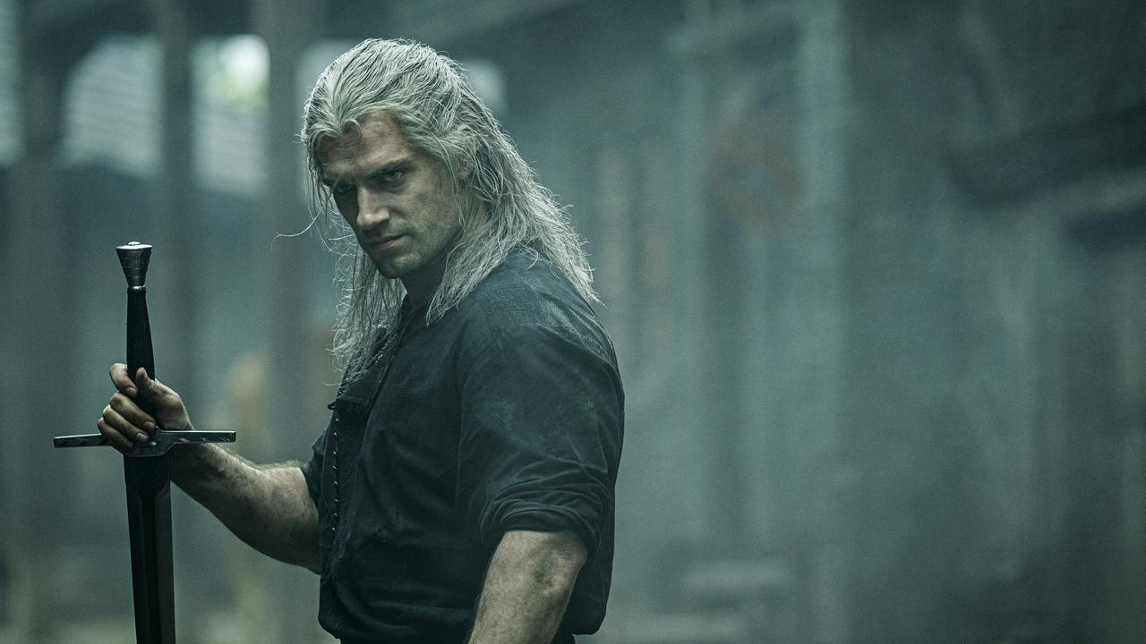 Geralt was a real chatterbox in the show's first draft. Picture: Netflix.