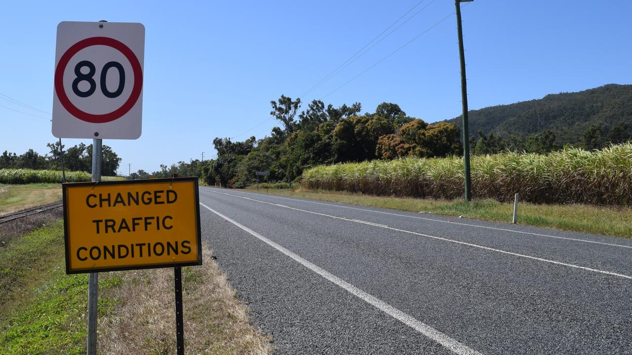 The speed limit on Shute Harbour Rd between Stanley Drive and Gregory-Cannon Valley Rd has been reduced to 80km/h.