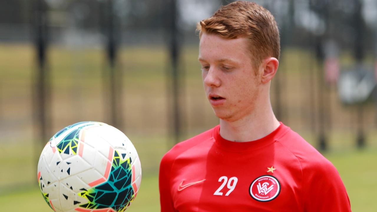 Western Sydney Wanderers player Daniel Wilmering has a long history with the club dating back to his ball boy days.