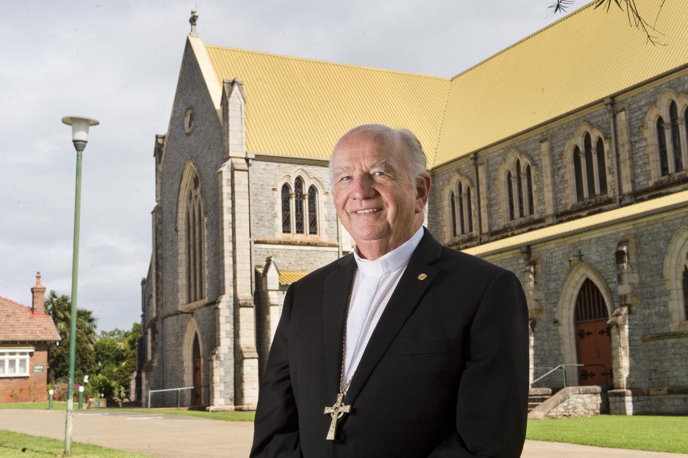 Bishop of the Toowoomba Catholic Diocese Bishop Robert McGuckin