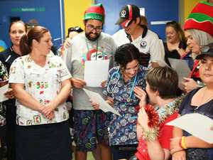 Gallery: Community Lifestyle Agency visit childrens ward