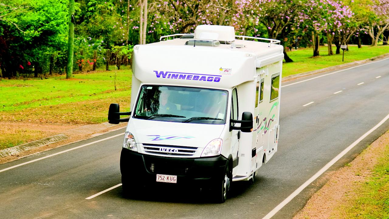 Motorhomes have become an increasingly popular way to tour Australia.